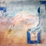 Mischtechnik (Acryl, Collage)