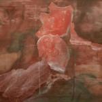 Acryl und Collage